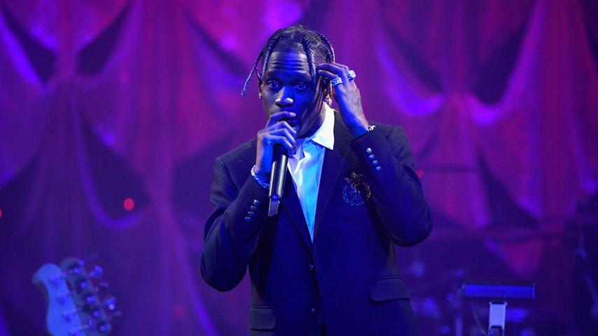 Travis Scott bei einem Auftritt im Februar 2019
