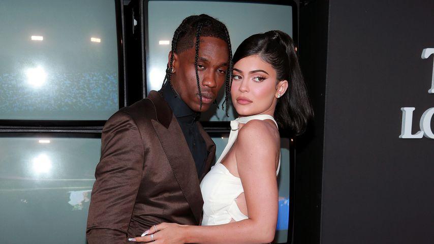 """""""Stormis Eltern"""": Kylie gratuliert Travis zum Geburtstag"""