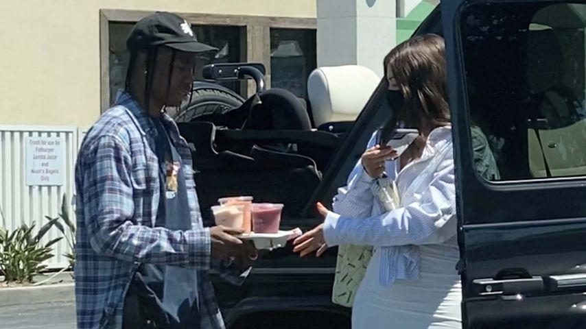 Travis Scott und Kylie Jenner im Juli 2020