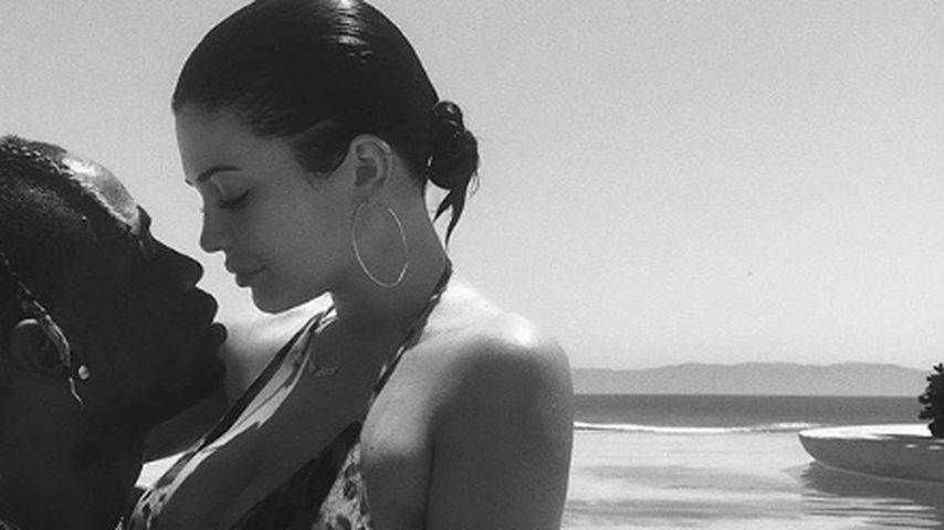 Travis Scott und seine Freundin Kylie Jenner