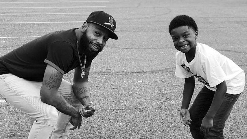 Tre Da Kid mit seinem Sohn