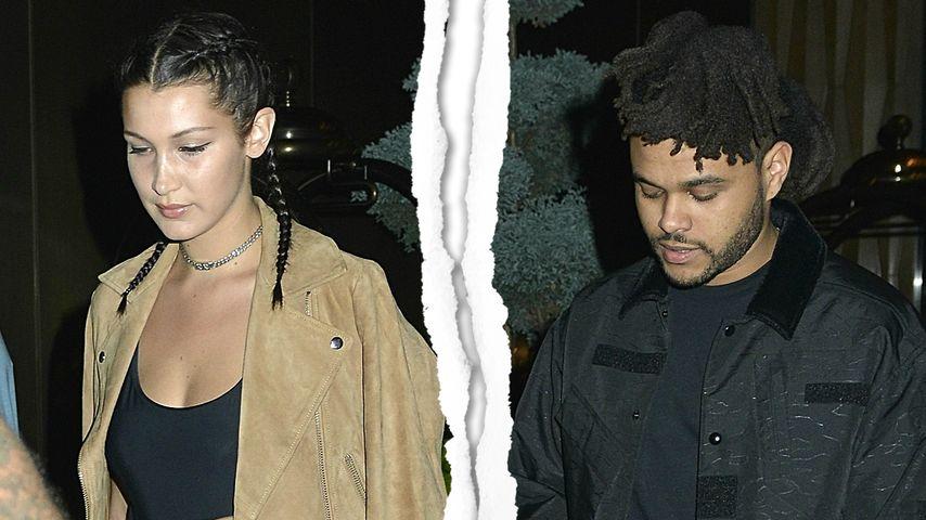 Zu viel Stress? Bella Hadid und The Weeknd trennen sich