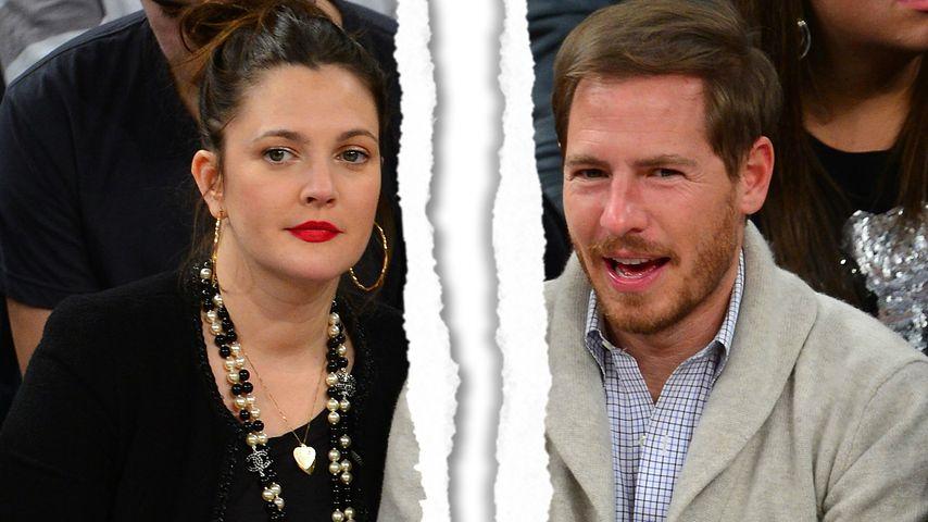 Zum 3. Mal Ehe-Aus! Drew Barrymore reicht Scheidung ein