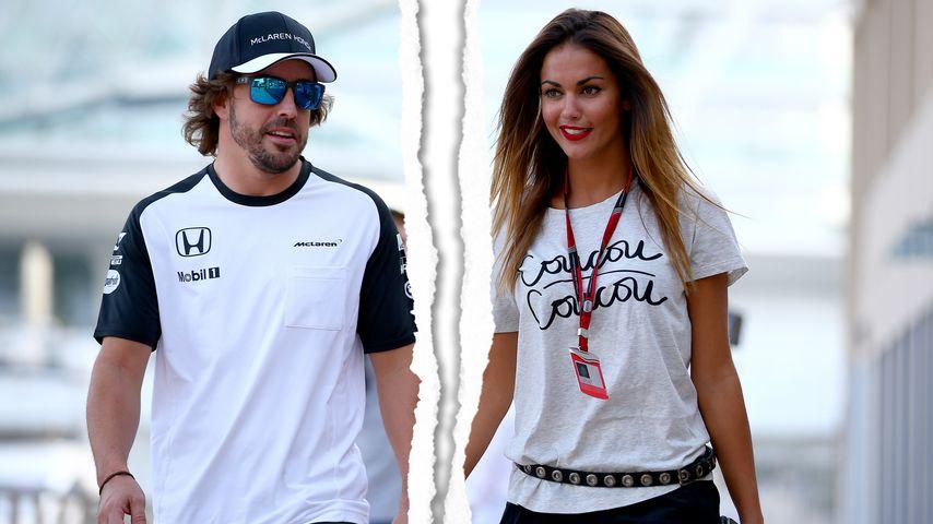 Nach 14 Monaten: Fernando Alonso trennt sich von Freundin