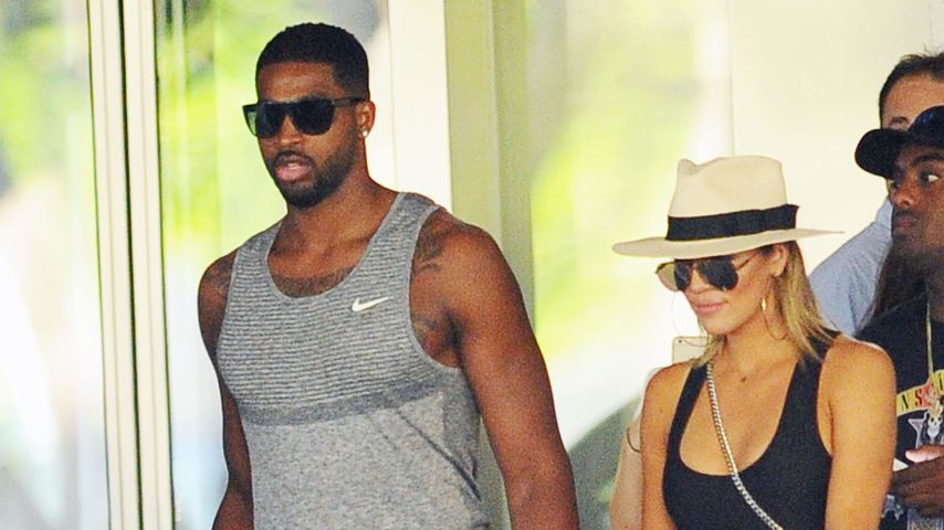 Tristan Thompson und Khloe Kardashian in Florida