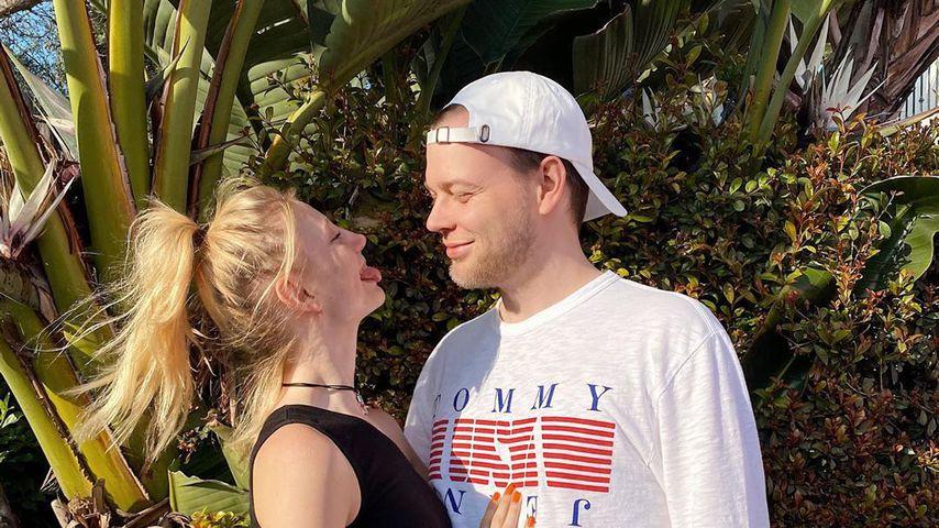 """GNTM-Trixi und Freund: Wer sagte zuerst """"Ich liebe dich""""?"""
