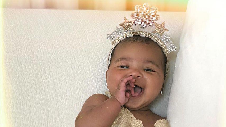 Khloe Kardashians Tochter Thrue Tompson, August 2018