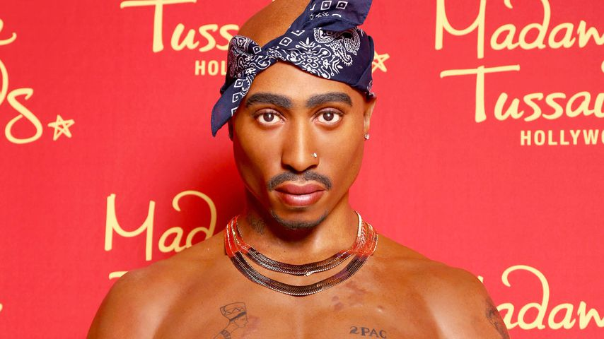 Tupac Shakurs Wachsfigur bei Madame Tussauds in Hollywood
