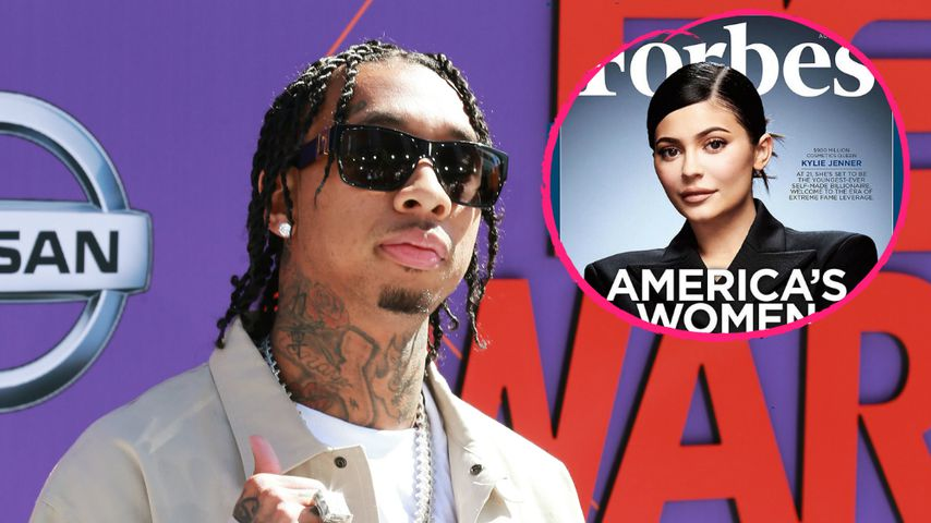 Gold-Digger Tyga: Er ist sauer über Ex Kylies Forbes-Cover
