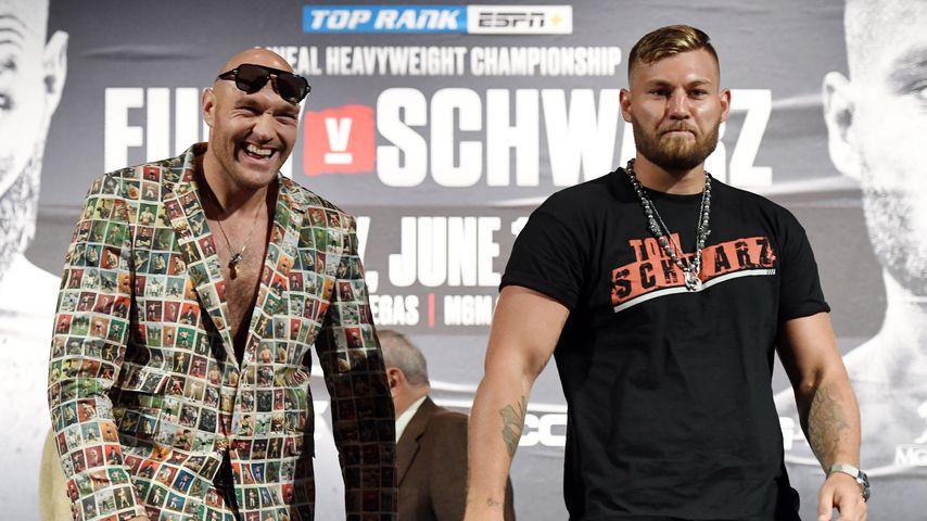 Tyson Fury und Tom Schwarz in Las Vegas