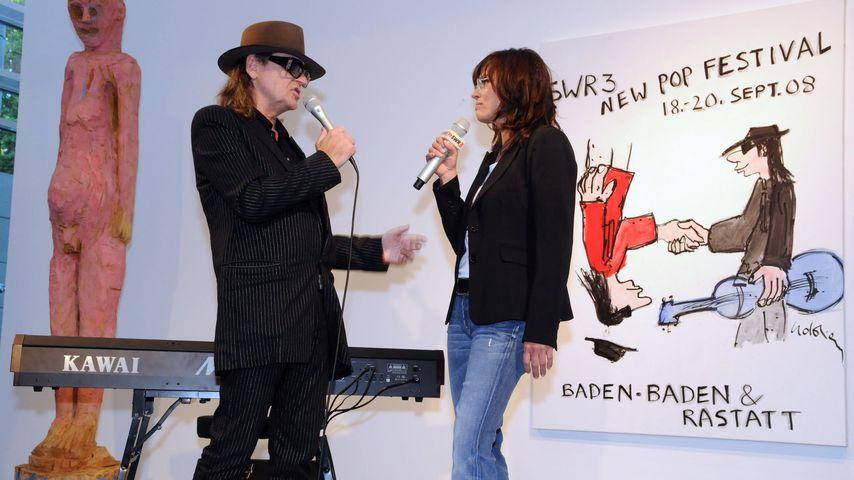 Udo Lindenberg und Stefanie Tücking