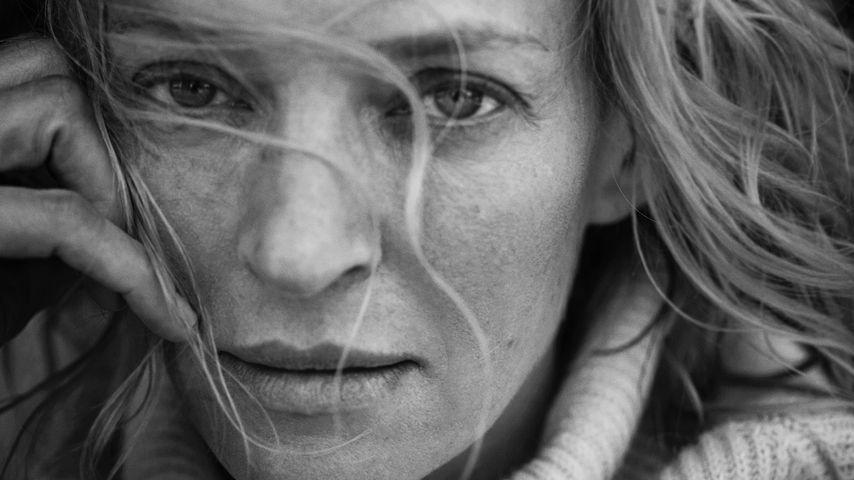 Uma Thurman, abgelichtet für den Pirelli Kalender 2017