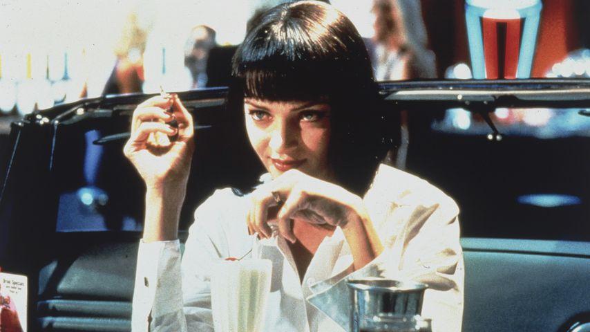 """Uma Thurman als Mia Wallace in """"Pulp Fiction"""""""
