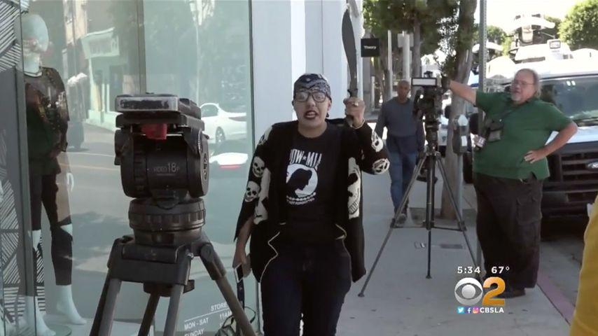 Waffen-Drama vor Kardashian-Shop: Frau will TV-Familie töten