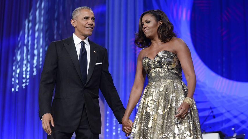 US-Präsident Barack Obama und Michelle