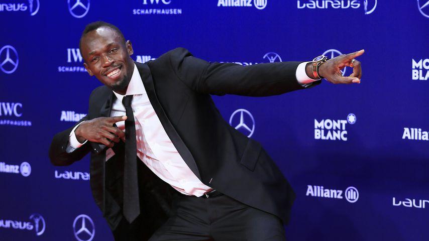 Mega-Party über den Wolken: Usain Bolt lässt's echt krachen!