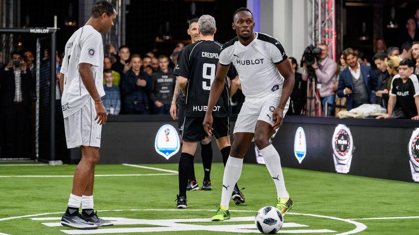 Usain Bolt: Nach Sprinter-Aus jetzt fette Fußball-Karriere?
