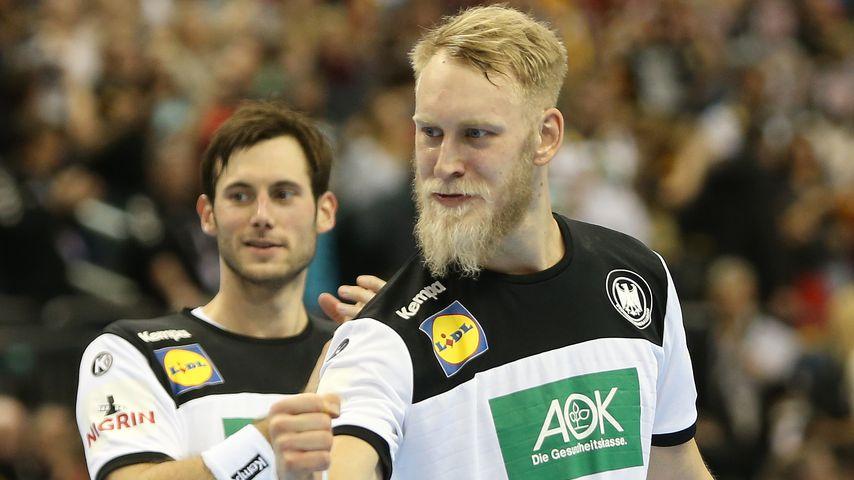 Uwe Gensheimer und Matthias Musche bei der Handball-WM 2019