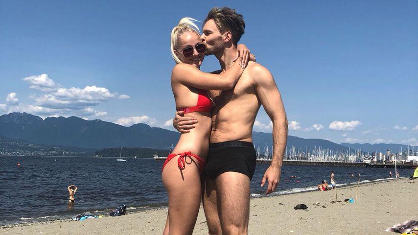 Vadim Garbuzov und Freundin Nicky in Vancouver