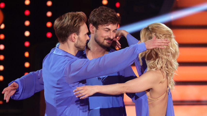 Vadim Garbuzov, Nicolas Puschmann und Kathrin Menzinger