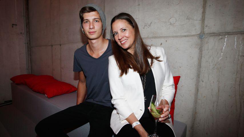 Valentin Schweiger und Mutter Dana Schweiger