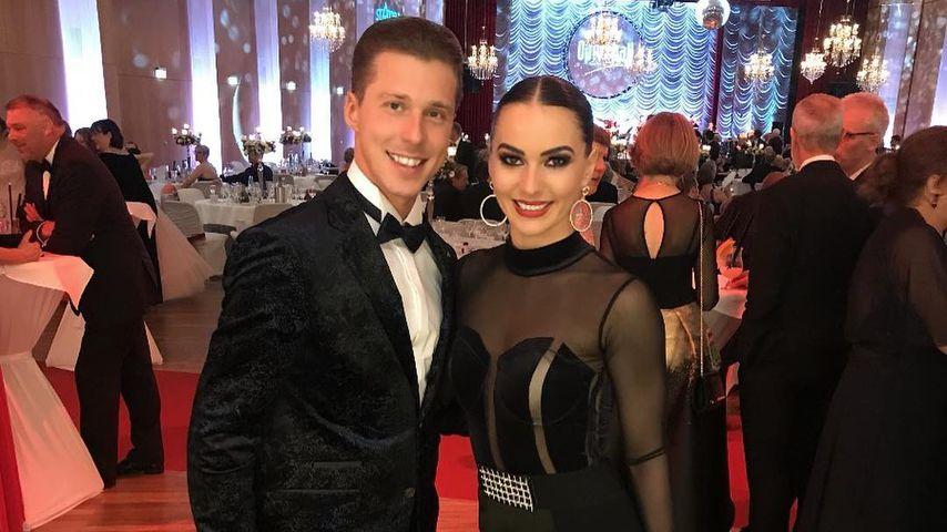 Valentin und Renata Lusin im März 2019