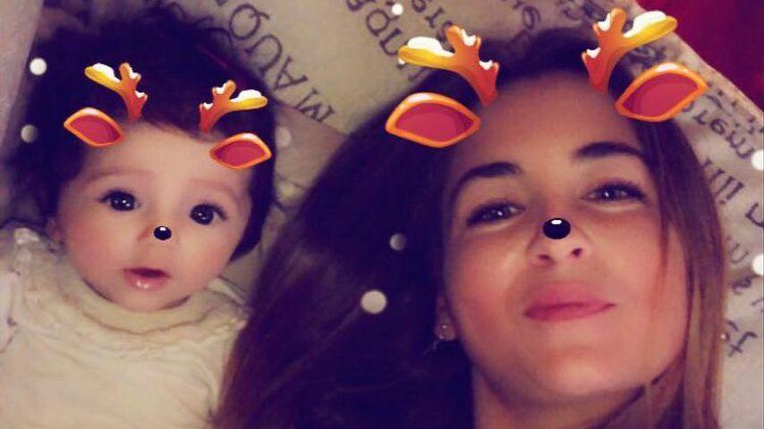 Valentina Lewe mit dem neusten Lewe-Nachwuchs der Familie, 2018