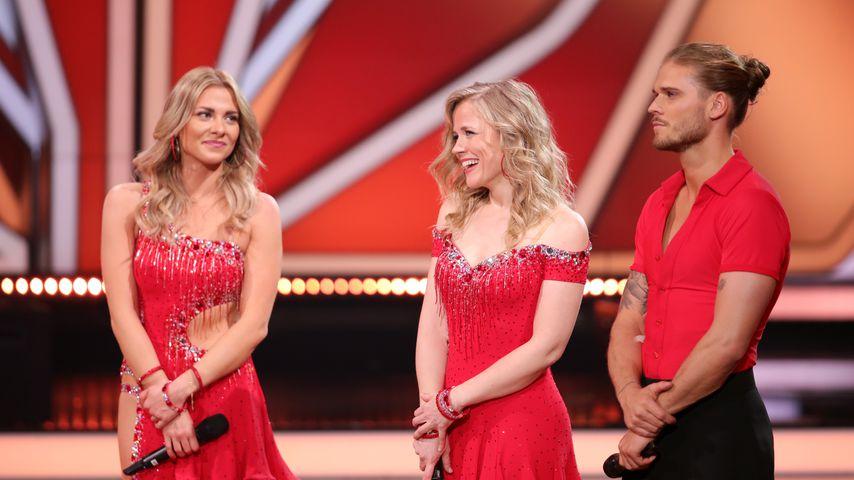 "Valentina Pahde, Ilse DeLange and Rúrik Gíslason bei ""Let's Dance"""