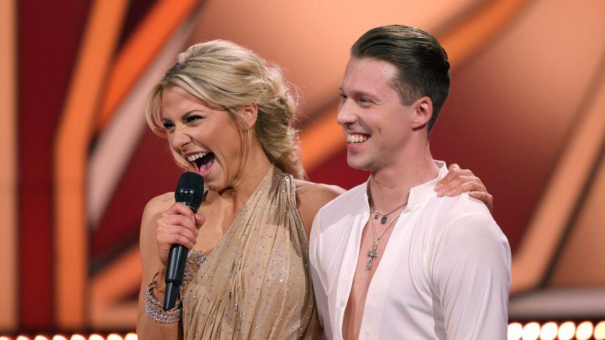 """Valentina Pahde und Valentin Lusin im """"Let's Dance-Finale"""
