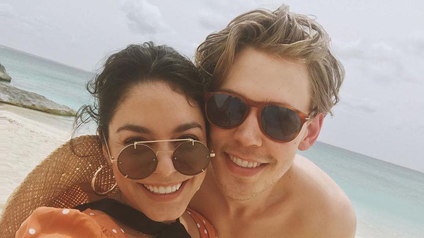 """""""Mein Himmel"""": Vanessa Hudgens teilt Urlaubs-Pic mit Austin!"""