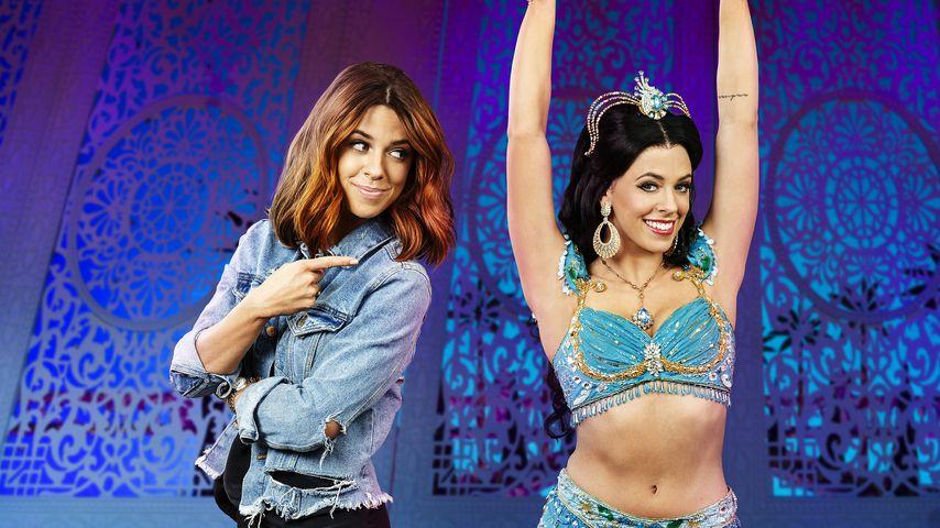 Verwandlung für Aladdin! Vanessa Mai als brünette Prinzessin