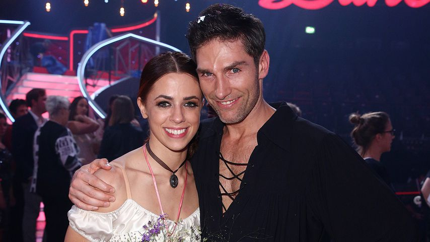 """Vanessa Mai und Christian Polanc bei dem Finale von """"Let's Dance"""" 2017"""