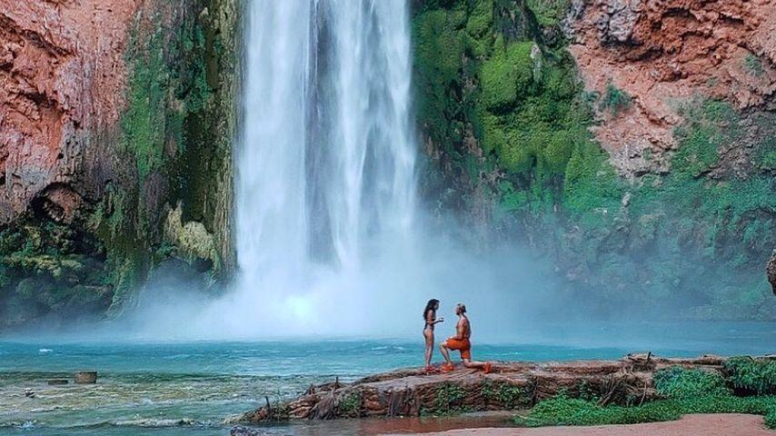 Vanessa Morgan und Michael Kopech in Arizona