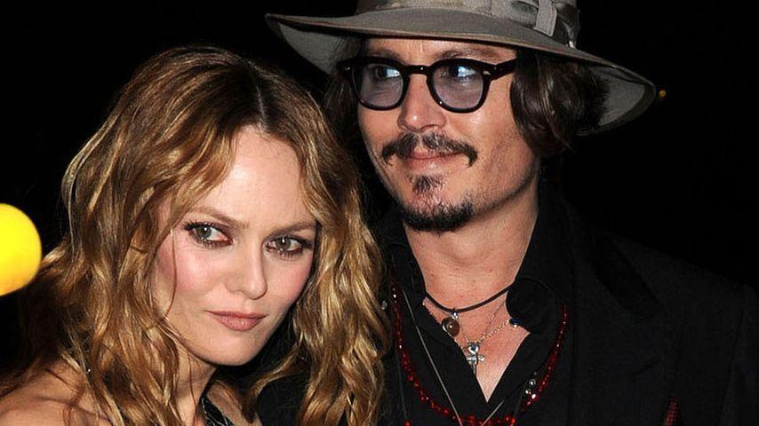 Nach Attacke am Set: Vanessa Paradis in Sorge um Johnny Depp