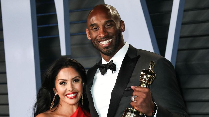 Vanessa und Kobe Bryant, 2018
