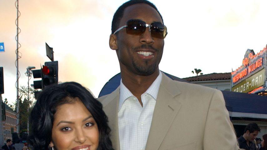 Vanessa und Kobe Bryant im Jahr 2002