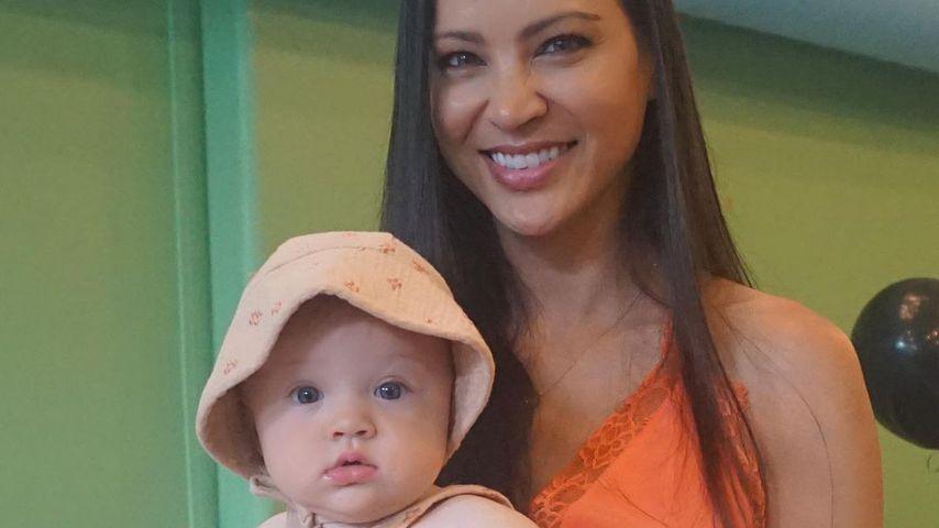 Varunie Vongsvirates mit ihrer Tochter Lyla im Juni 2019