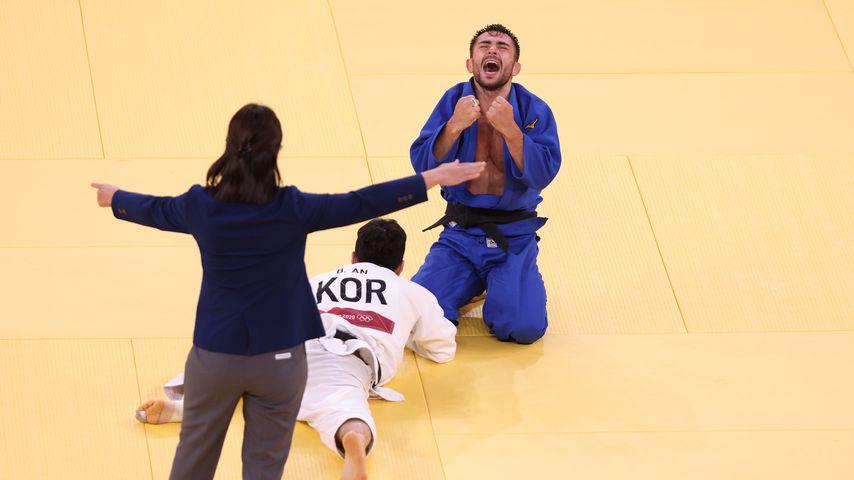 Vazha Margvelashvili bei den Olympischen Spielen 2020 in Tokio