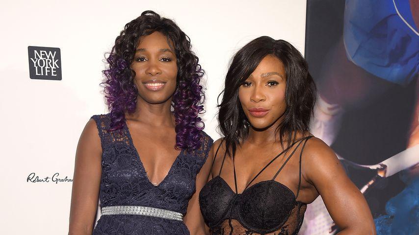 """Venus und Serena Williams bei """"Sportler des Jahres""""-Wahl 2015 in NYC"""