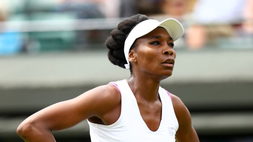 Venus Williams bei einem Tennis-Match in London