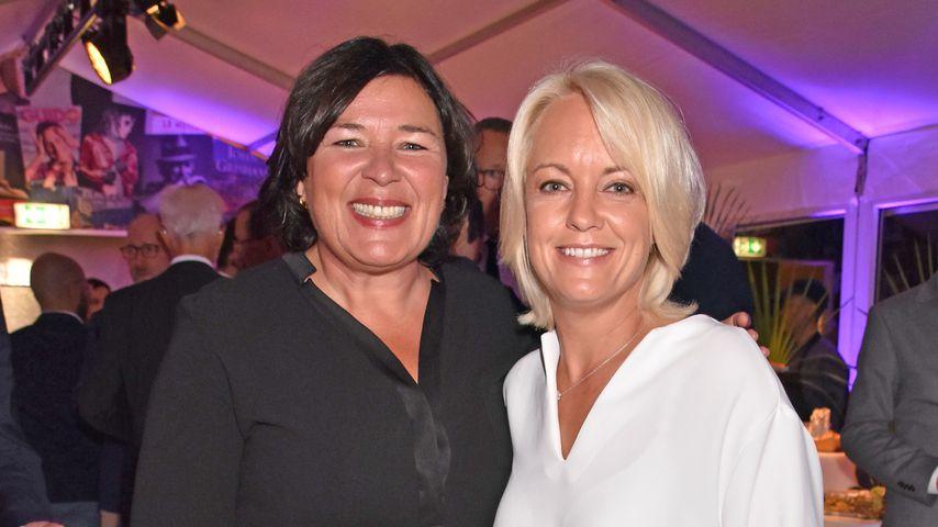 Vera Int-Veen mit ihrer Frau Obi im September 2019