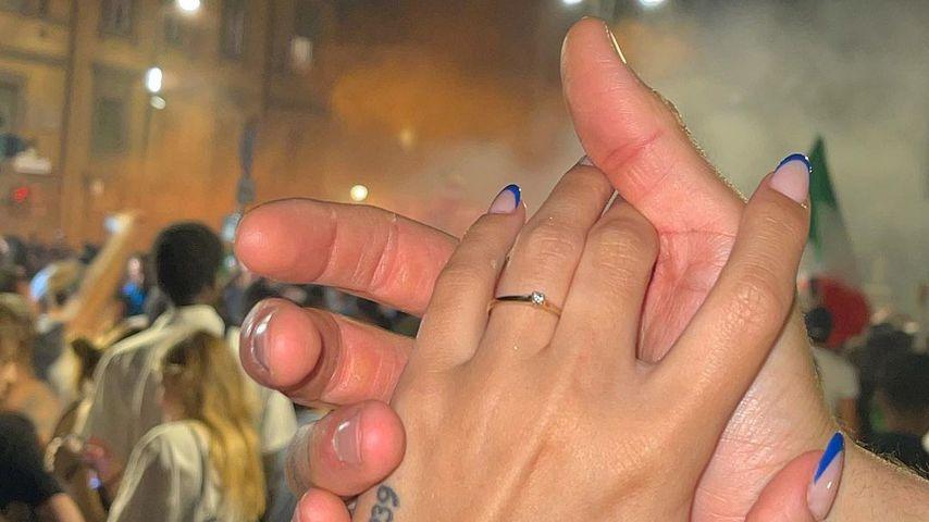 Verlobungsring von Romina Palm