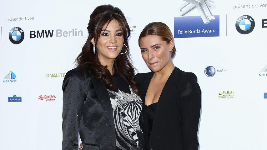 Verona Pooth und Sophia Thomalla beim Felix Burda Award 2011