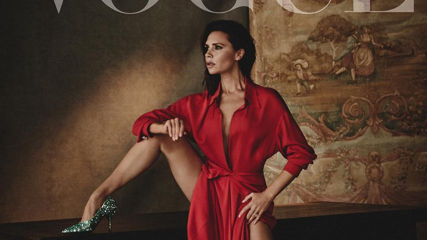 Supersexy mit 43: Vic Beckham lasziv auf spanischer Vogue!