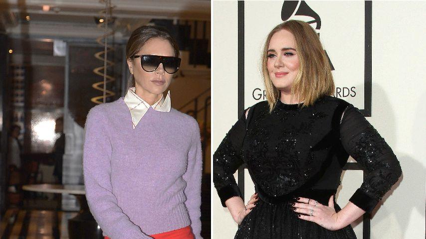 Nach großem Kilo-Verlust: Schickt Vic Beckham Adele Outfits?
