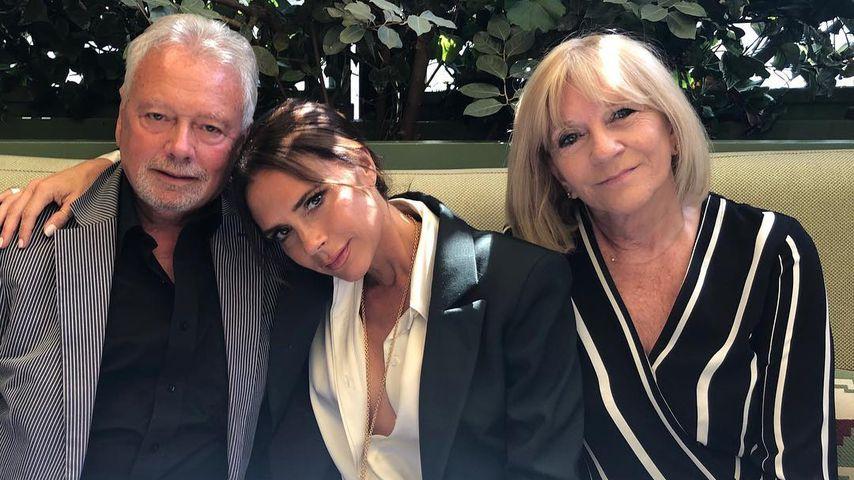 Victoria Beckham: Süßes Family-Pic mit ihren Eltern