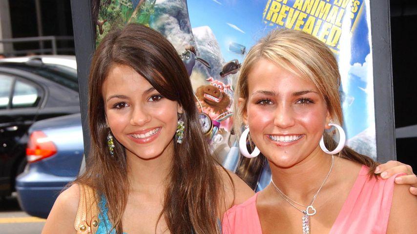 Victoria Justice und Jamie Lynn Spears, 2006