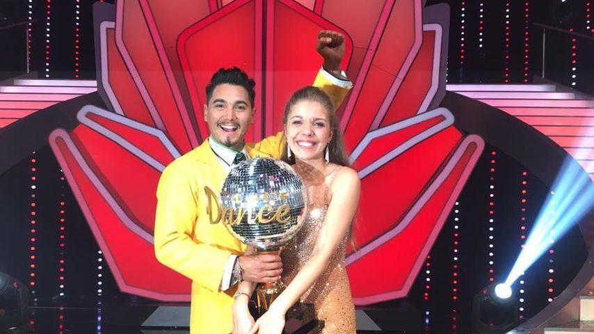 """""""Let's Dance""""-Sieger 2016: Erich Klann und Victoria Swarovski"""