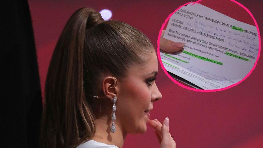 """""""Let's Dance"""": Das steht auf Victorias Moderationskarten"""