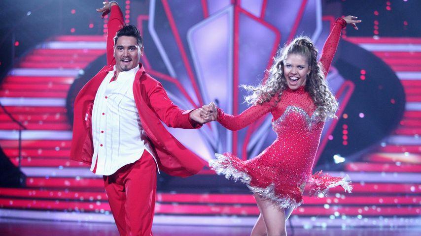 """Victoria Swarovski und Erich Klann im """"Let's Dance""""-Viertelfinale"""